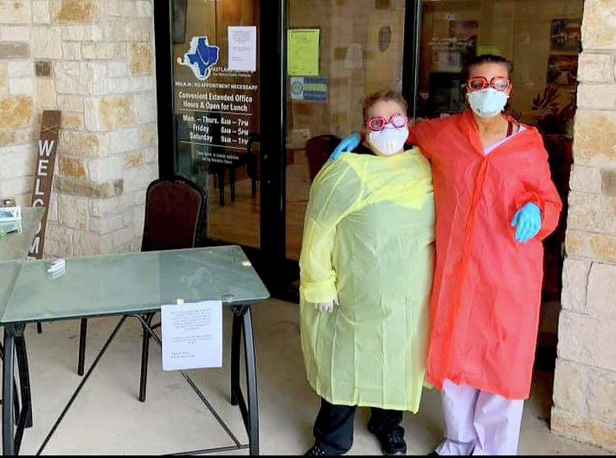 Houston's healthcare workersHospital workers are working around the clock to treat COVID-19 patients and are facing huge shortages in protective gear. Some have resorted to re-using supplies and are getting creative with makeshift protection equipment such as raincoats and swim goggles.