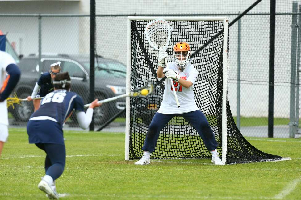 Niskayuna native and New Hampton School graduate Asa Goldstock of the Syracuse women's lacrosse team. (Courtesy of Syracuse athletic department)