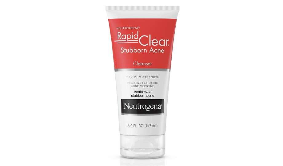 Neutrogena Rapid Clear Stubborn Acne Face Wash, $6.89 Photo: Amazon