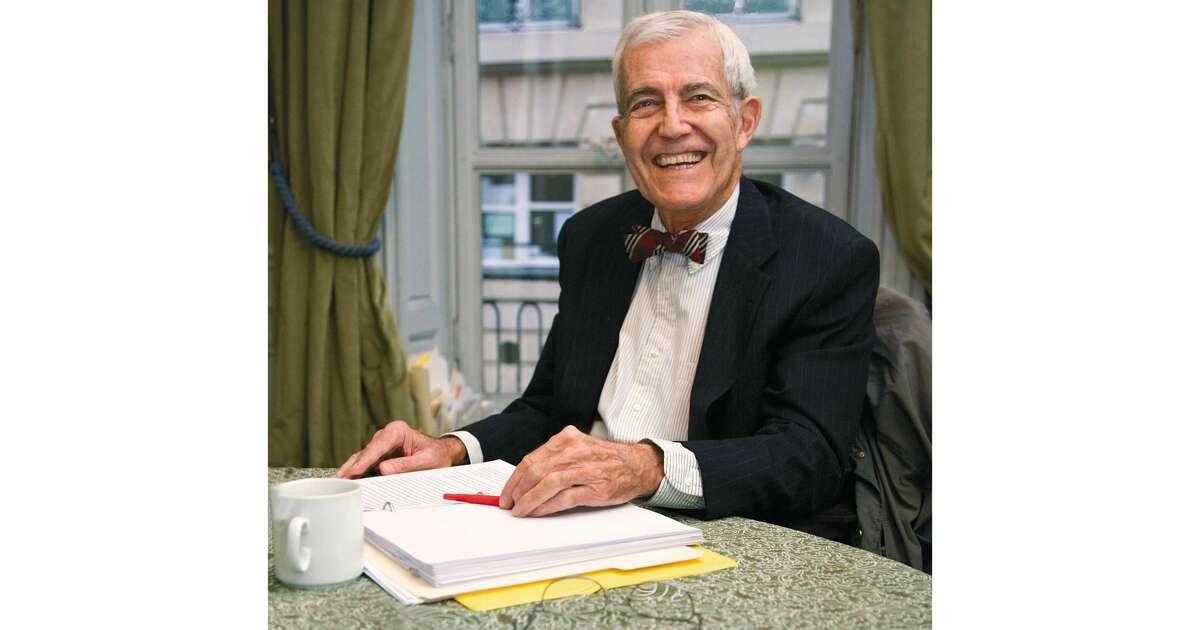 Dr. John Murray in his Paris apartment in 2013.
