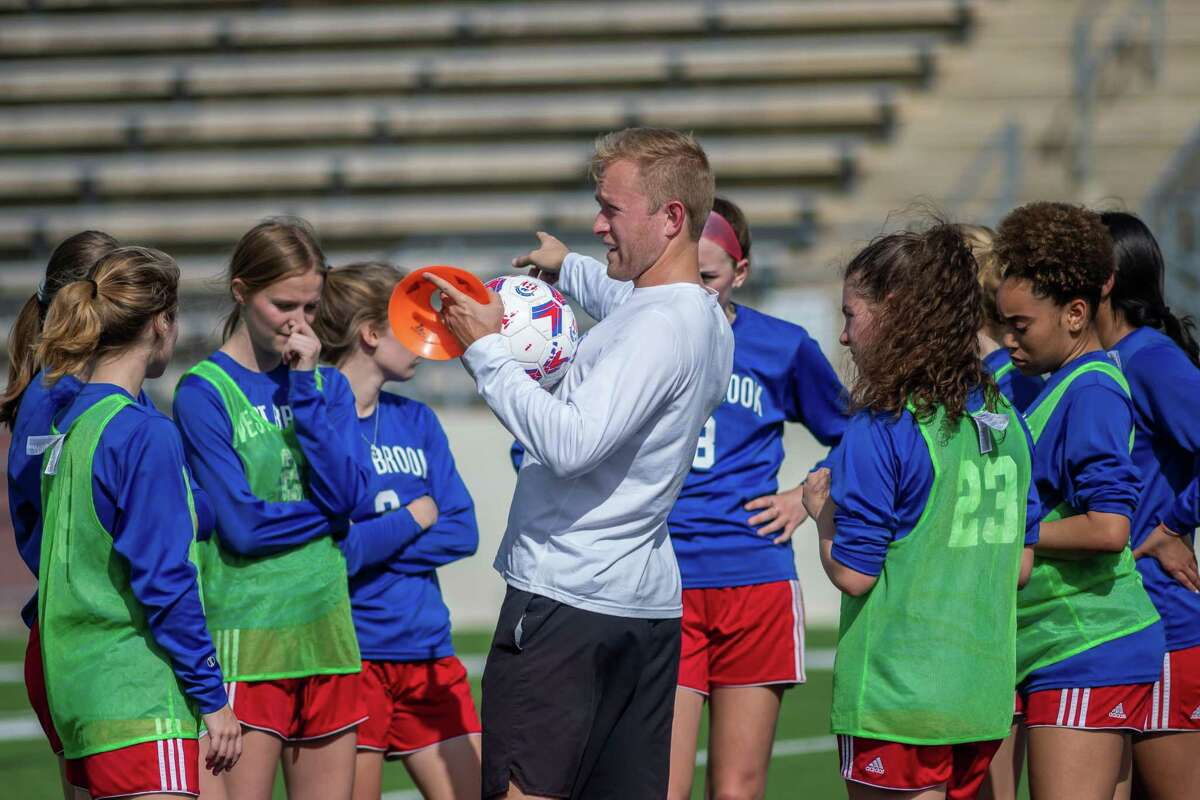 The West Brook girls soccer team was in the midst of their best regular season in recent memory under first-year head coach Adam Bell, but the UIL suspension of play due to the coronavirus has them on hold for the playoffs. Fran Ruchalski/The Enterprise