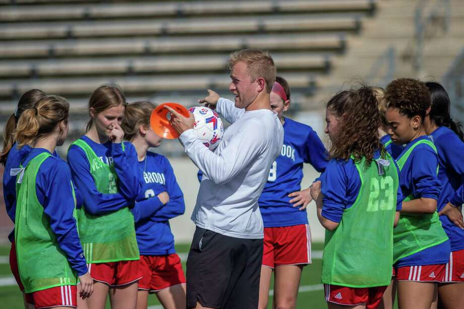 The West Brook girls soccer team was in the midst of their best regular season in recent memory under first-year head coach Adam Bell, but the UIL suspension of play due to the coronavirus has them on hold for the playoffs. Fran Ruchalski/The Enterprise Photo: Fran Ruchalski/The Enterprise / 2019 The Beaumont Enterprise