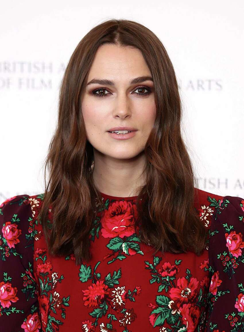 LONDON, ENGLAND - DECEMBER 17: Keira Knightley during her 'A Life In Pictures' at BAFTA on December 17, 2018 in London, England. (Photo by Mike Marsland/WireImage)
