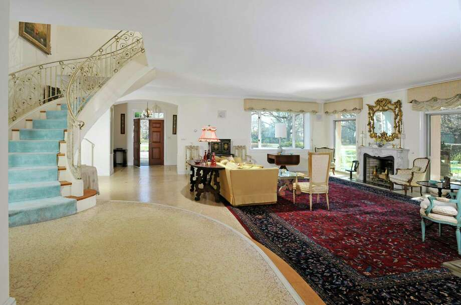 Built in 1925, the five-bedroom Mediterranean Revival resident at 1 Quaker Lane blends some classic design detail from Italian and Spanish architecture Photo: Contributed Photos