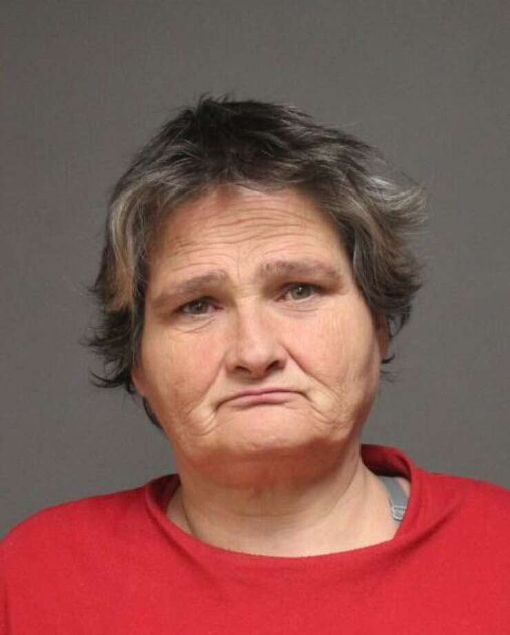 Lisa Dennis, 48, was arrested on March 15 and charged with third-degree assault, second-degree disorderly conduct and interfering with an officer. She was also charged for the prior alleged offenses of sixth-degree larceny and interfering with an officer. Photo: / Fairfield Police Department