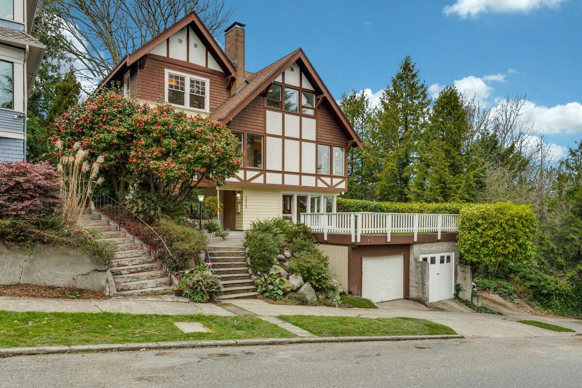 Both in the past and present, this historic home perched on North Capitol Hill has unique charm. Own it for $1.6M
