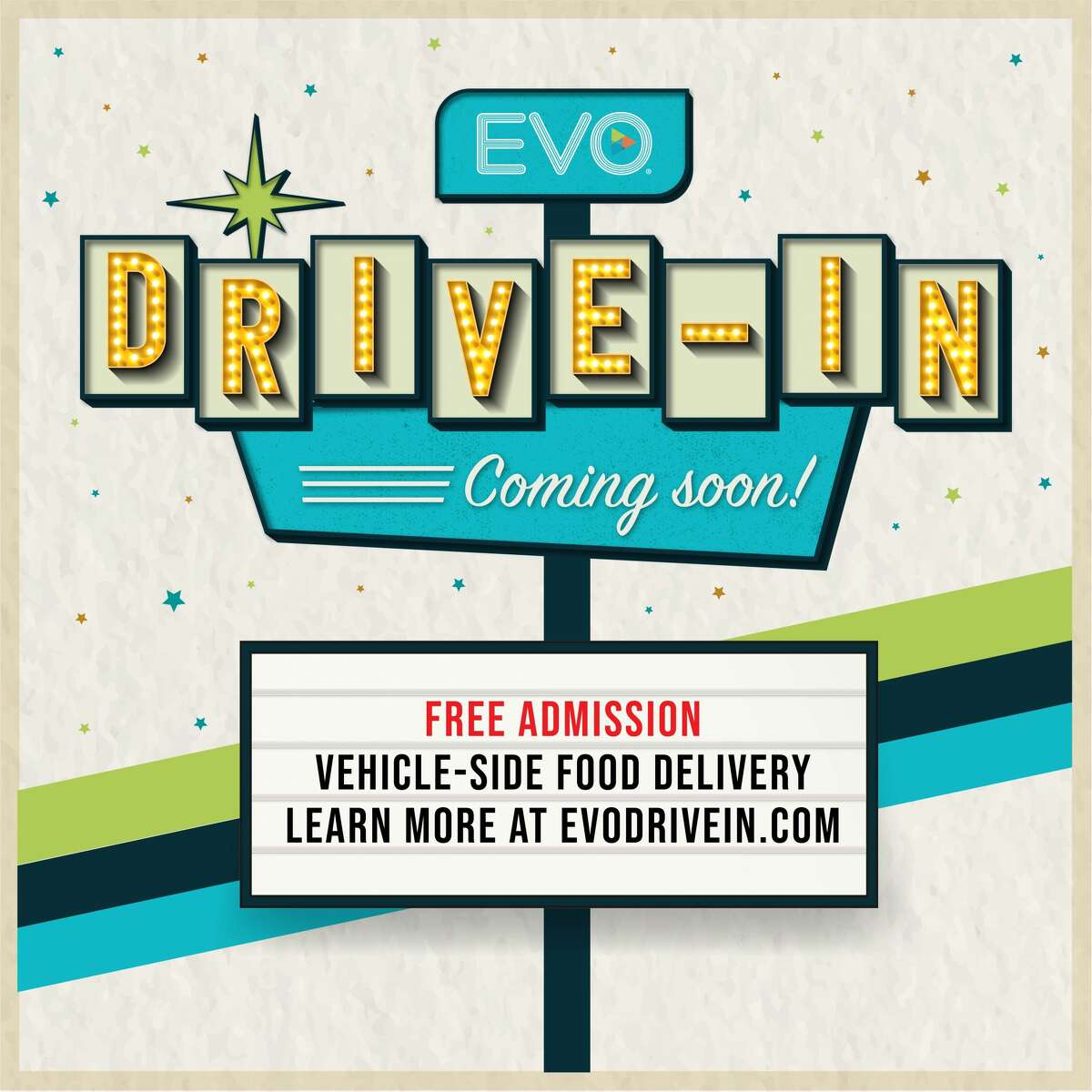 To apply social distancing, guests will watch the film in their cars and order food through a custom mobile app that was specifically made for the drive-in experience.