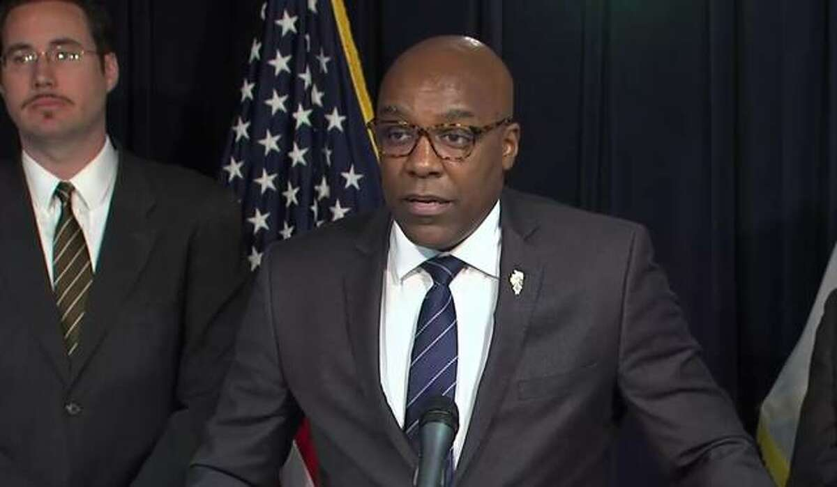 FILE - A photo of Illinois Attorney General Kwame Raoul.