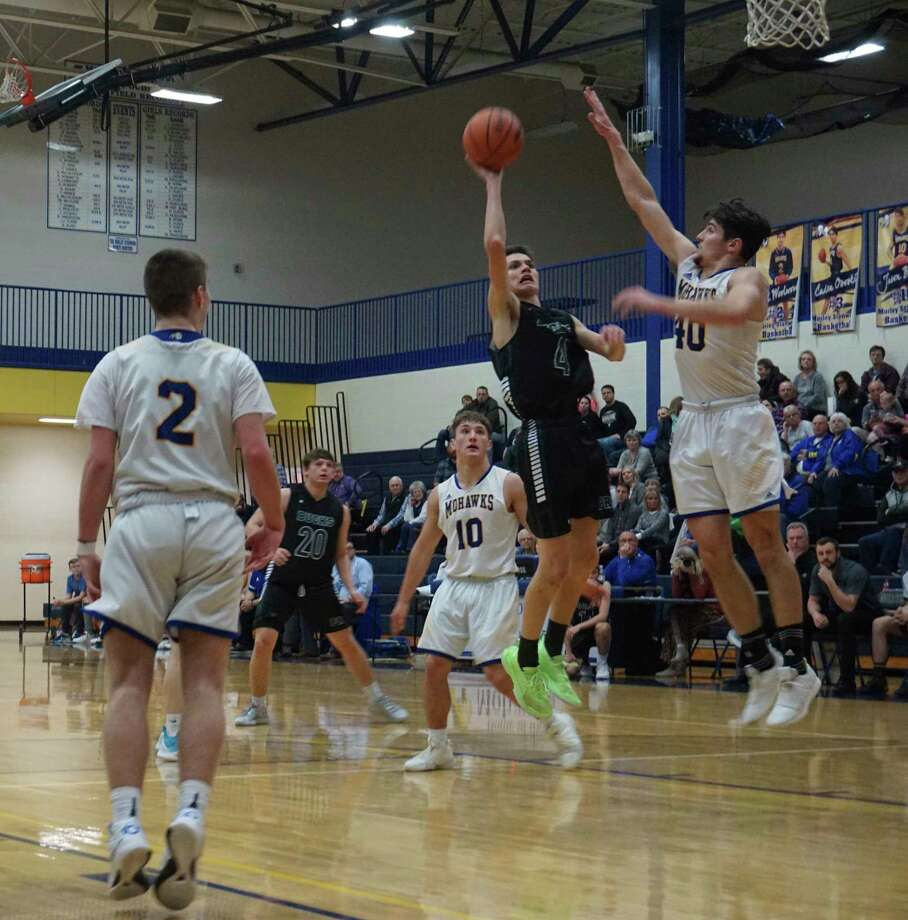 Morley Stanwood's boys' basketball team won 19 games and their second-consecutive CSAA Silver championship. (Pioneer file photo/Joe Judd)
