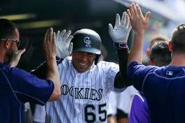 Former Rockies shortstop Stephen Cardullo hit .266 with 22 home runs, 96 runs and 70 RBIs last season for the High Point Rockers of the Atlantic League of Professional Baseball.