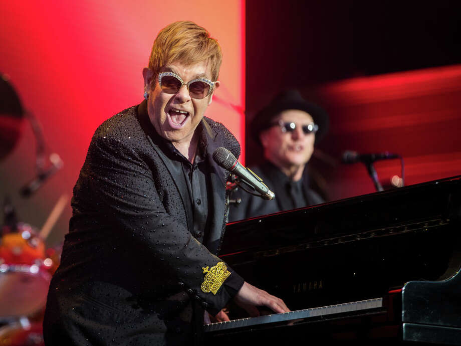 Elton John will host the iHeart Living Room Concert for America on Sunday, Marcy 29. Check out the rest of the lineup as announced so far... Photo: Michael Campanella/Redferns / 2017 MICHAEL CAMPANELLA