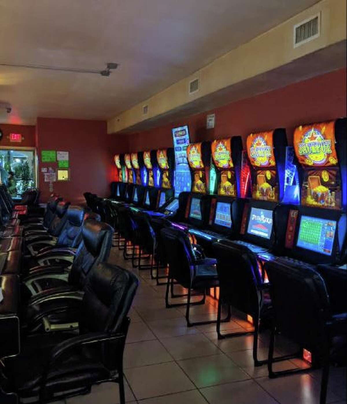 The manager of Bravo Amusement Center was cited Tuesday for staying open.