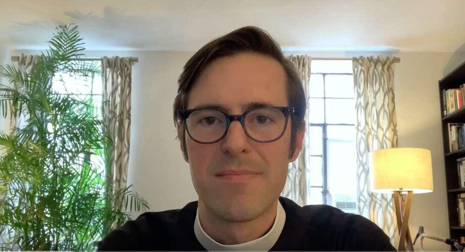 Rev. Ryan Fleenor is the new rector of St. Luke's Parish in Darien. Photo: Contributed
