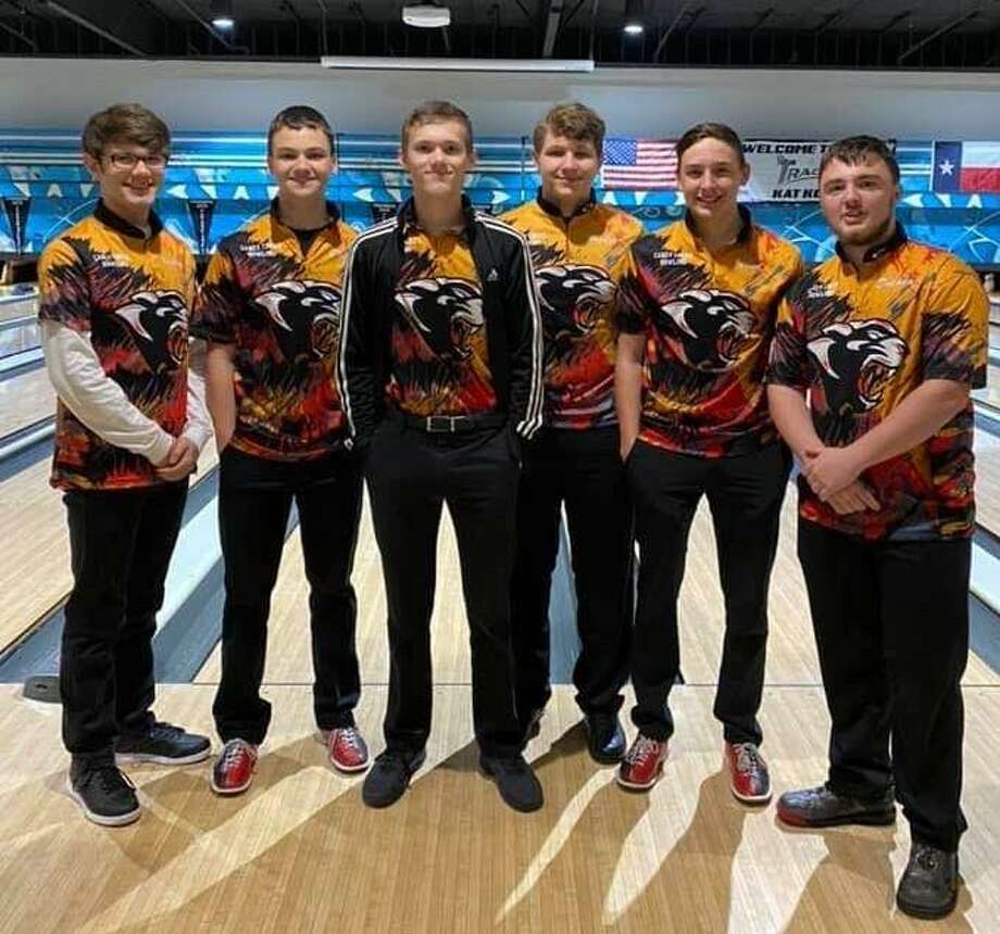 The Caney Creek bowling team qualified for the THSBC state tournament on March 1. But due to the coronavirus pandemic, the state tournament was canceled. Photo: Photo Submitted