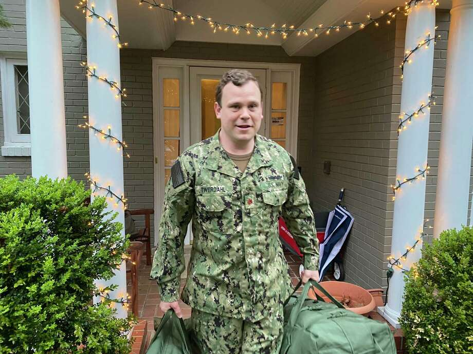 Lt. Commander, (LCDR), Eric H. Twerdahl, M.D., has joined the USNS Comfort hospital ship. Twerdahl is also a former New Canaan resident. Photo: Contributed Photo