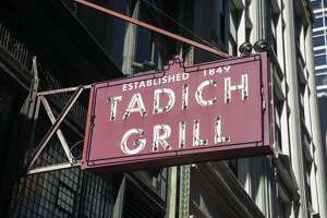 Tadich Grill has been closed due to the shelter-in-place order to slow the spread of the the coronavirus, Covid-19, in San Francisco, Calif. on March 26, 2020.