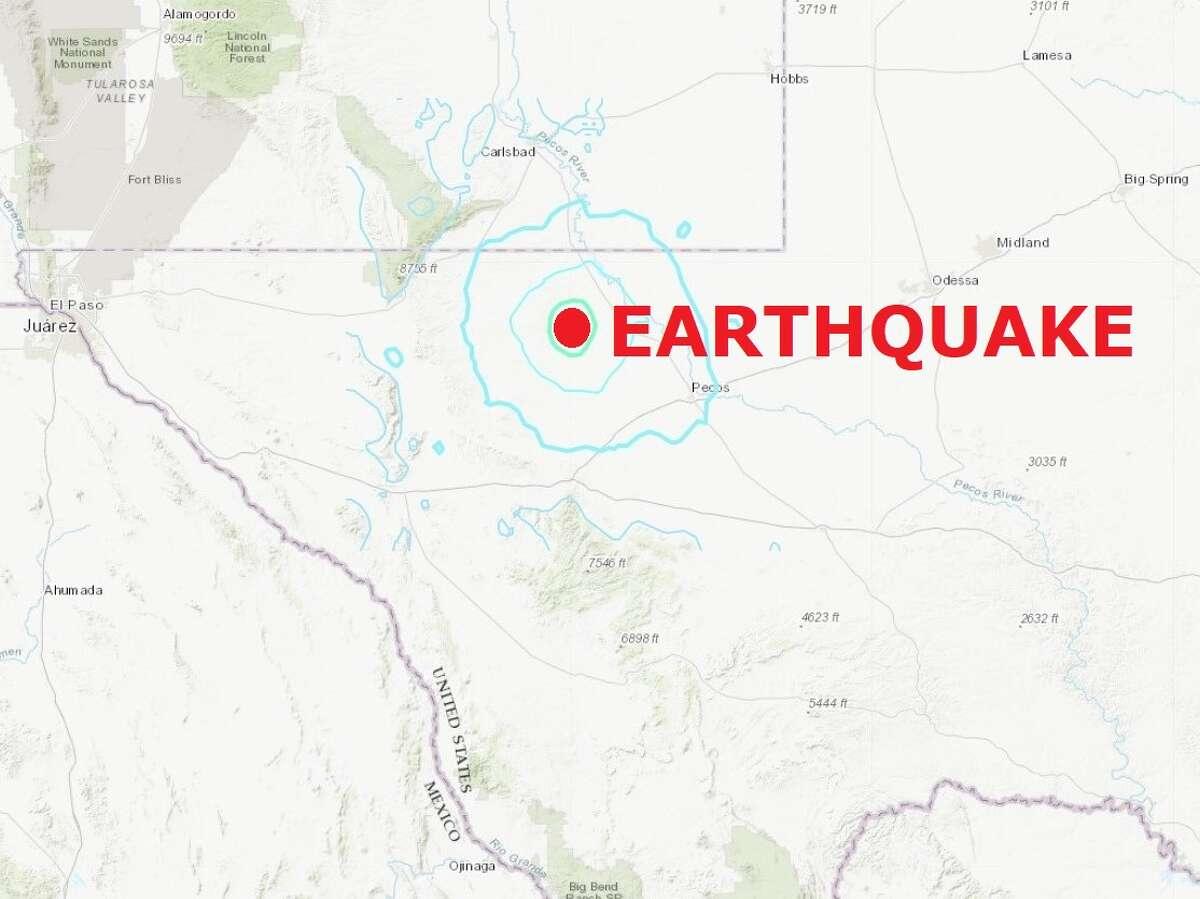 A record-setting 5.0-magnitude earthquake hit near the Permian Basin town of Orla Thursday morning.