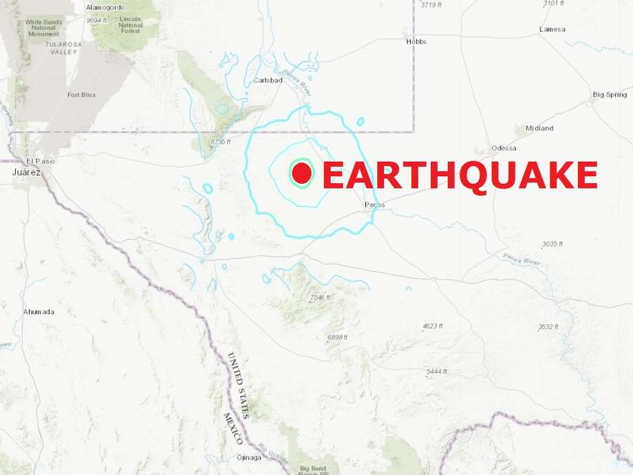 A record-setting 5.0-magnitude earthquake hit near the Permian Basin town of Orla Thursday morning. Photo: Houston Chronicle