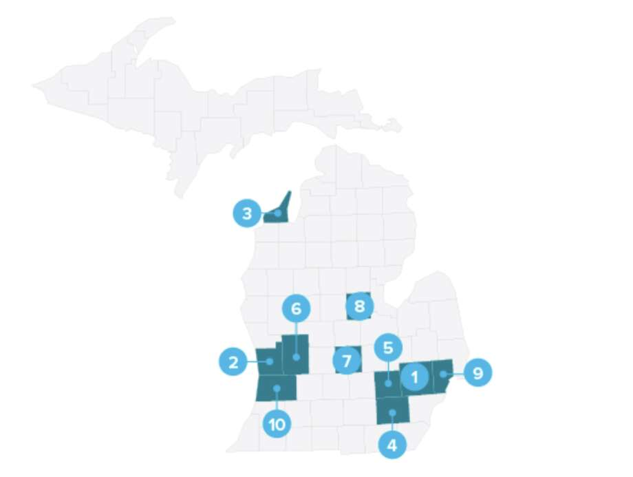 Midland County has been ranked among the ten most charitable counties in Michigan in a recent study by SmartAsset, a personal finance technology company headquartered in New York. More information about the study can be accessed here. Photo: (Graphic Provided/SmartAsset)