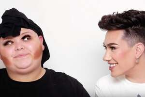 San Antonio's very own Adam Martinez, who turns into social media personality Rosa, recently received a makeover from Internet makeup influencer James Charles.