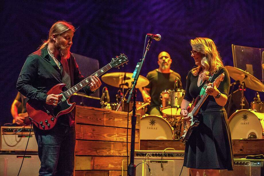 "The Ridgefield Playhouse is partnering with Tedeschi Trucks Band to livestream shows every Thursday at 8 p.m. (among other livestreamed events it offers.) The Florida-based band is livestreaming from its home studio, calling its shows ""Live From the Swamp."" Soon a new website, RidgefieldStreams.org, will offer details on what Ridgefield-based organizations are doing, so it's easier for all to find out what's going on. Photo: The Ridgefield Playhouse / Contributed Photo"