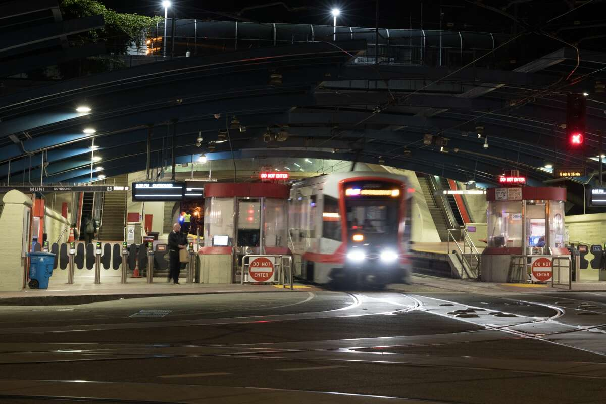 Muni is replacing all metro and light rail service with buses starting Monday.