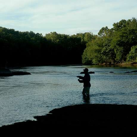 A fishing trip is a natural way to practice social distancing during the coronavirus pandemic as avoiding crowds is the way most anglers prefer to enjoy the sport in normal times.