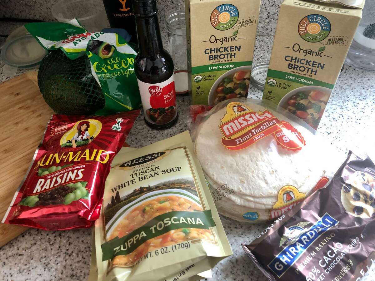 Some groceries delivered, for a fee, the other day via Instacart.