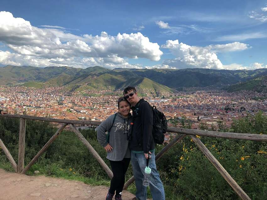 As of March 27, 2020, Vanessa and Steven Guthier of Clifton Park were still stuck in Peru after the country's border were closed because of the coronavirus pandemic.