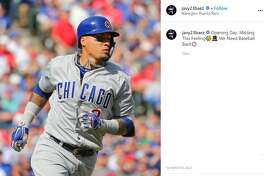 Chicago Cubs' Javier Baez.