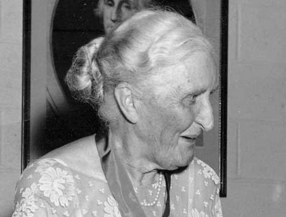 Anne S. Richardson, great benefactor Photo: Contributed Photo