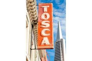 Tosca Cafe in San Francisco.