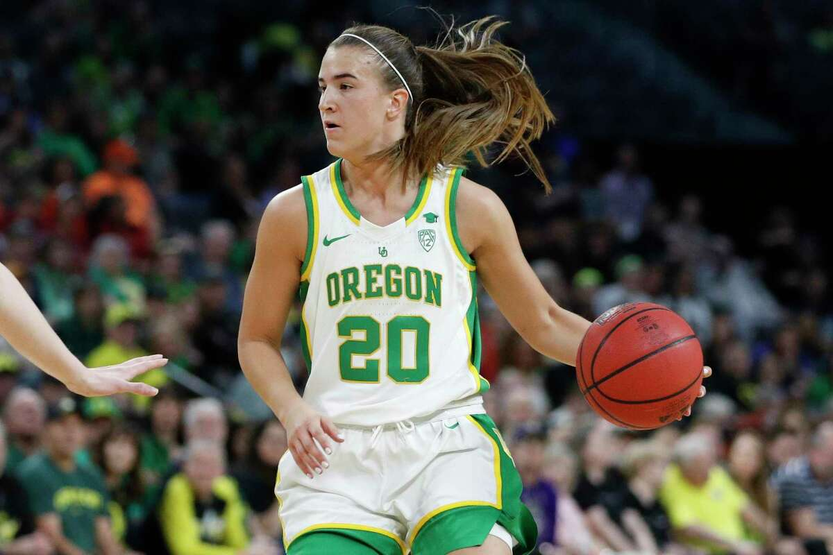 Oregon's Sabrina Ionescu is expected to be taken No. 1 overall by the New York Liberty in Friday's WNBA draft.
