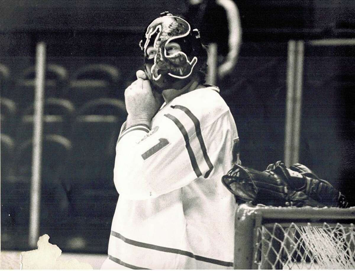 Goalie Gary Simmons played 74 of his 107 career NHL games with the California Golden Seals. He was 25-40-8 with the Seals.