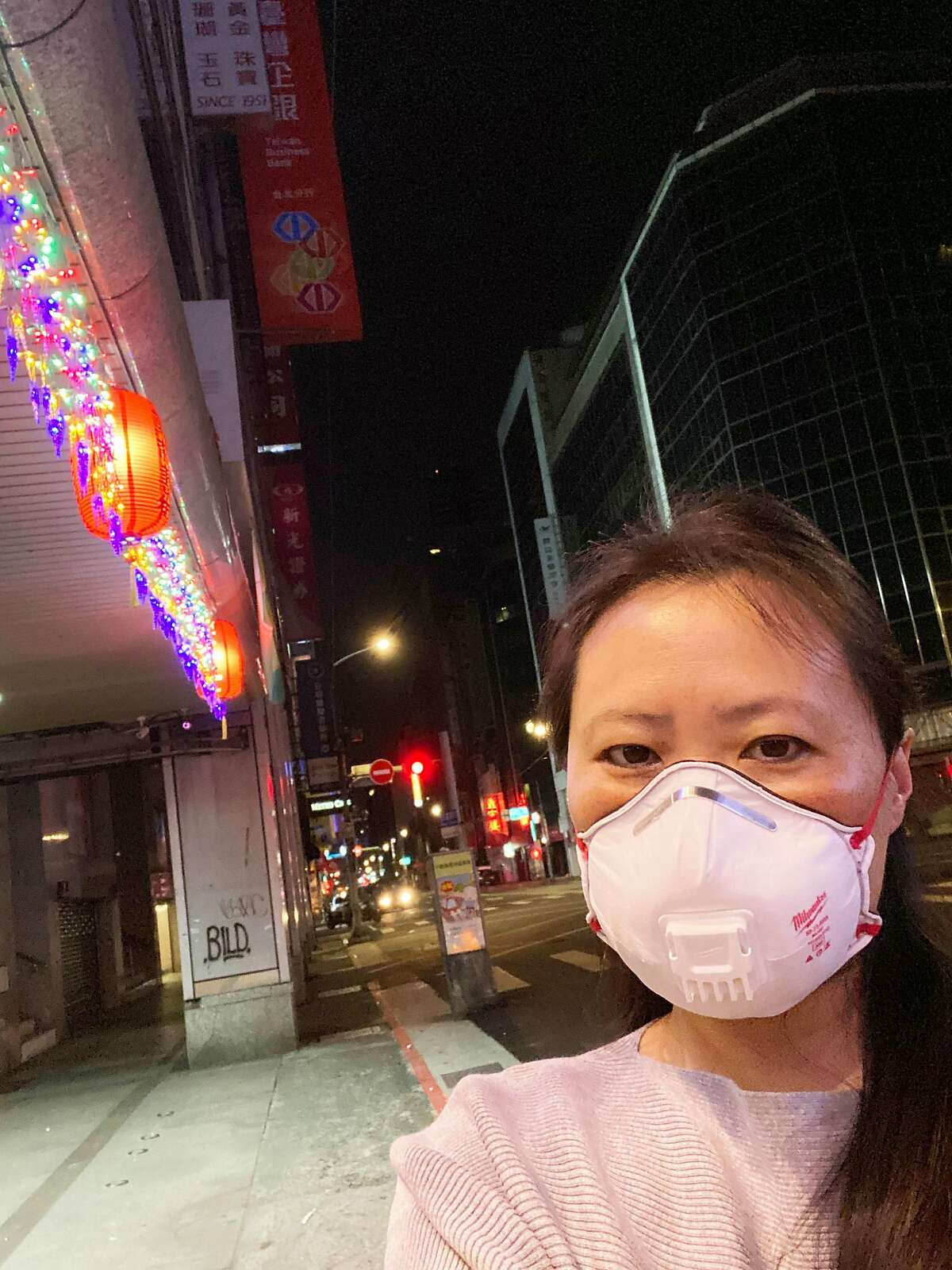 Native San Franciscan Connie Wong moved her parents, who are both in their 80s, from the city to Taiwan because of coronavirus fears. She feels that they're safer in Taiwan, where the virus has not overtaken hospitals.
