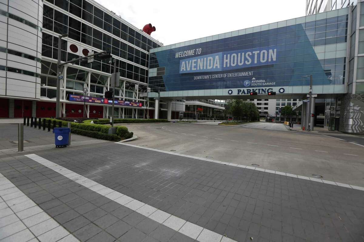 The George R. Brown Convention Center in downtown Houston.