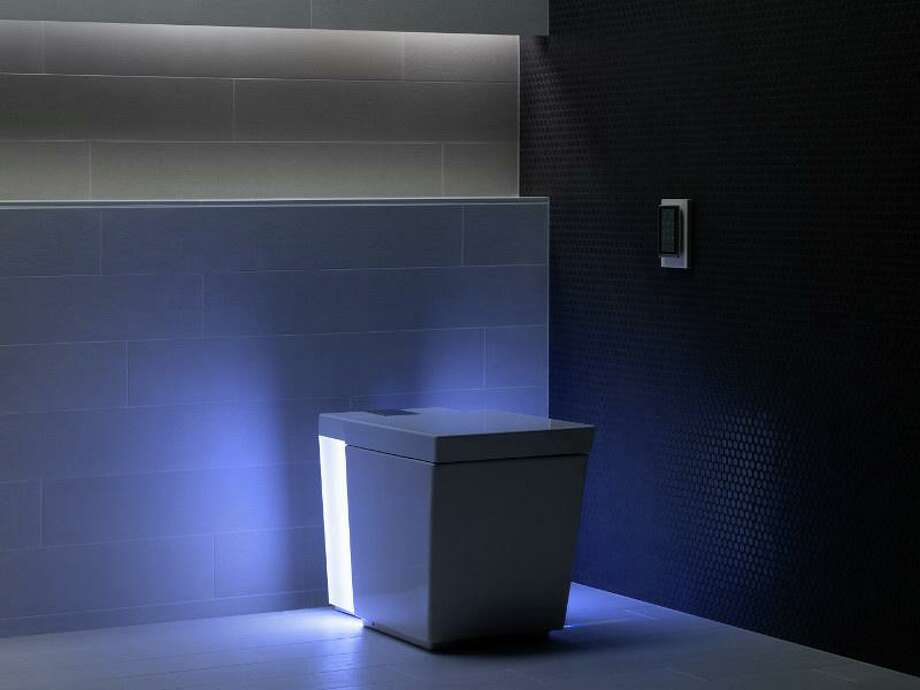Talk about personal technology: The high-tech Numi toilet has lights, heat, music, and it will wash and dry. Photo: Courtesy Kohler