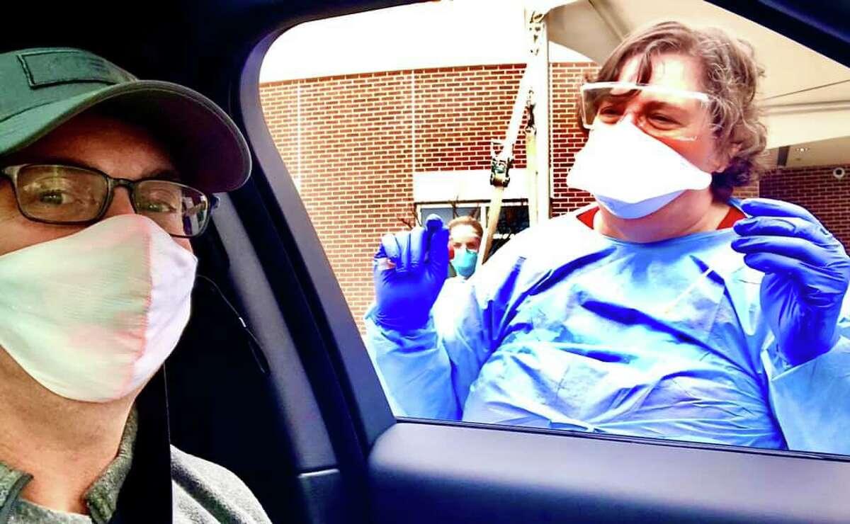 Texas resident Hunter Howard shares journey ater testing positive for coronavirus.