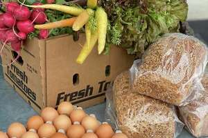 Fresh and local produce boxes, eggs, multigrain bread and other foods are now available via online ordering from Dish Society's new virtual food truck. Customers can get them via delivery or curbside pickup from the Katy, Memorial, San Felipe and Heights locations.