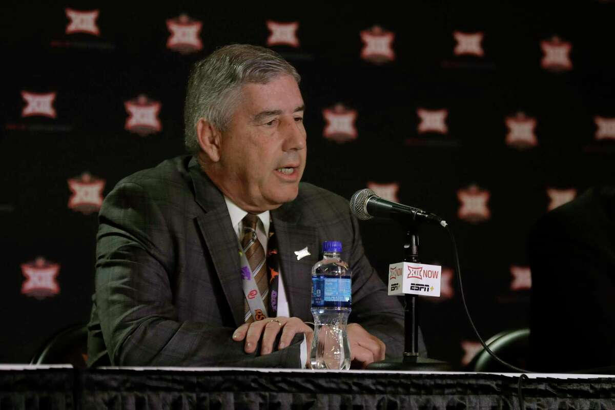 Big 12 commissioner Bob Bowlsby ex[ects the conference to take a $6.6 million hit from canceling the basketball tournament. He's planning on a football season in the fall but knows it's a moving target because of the coronavirus.