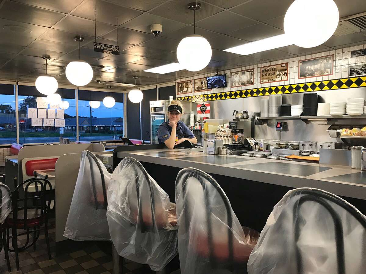 Eating at an indoor restaurant - Riskier Indoor dining hasn't yet reopened in Connecticut, and experts said that's fine with them. McGee named eating with others in an enclosed space as one of the riskier public activities. Buller agreed, particularly since people can't wear masks while eating.