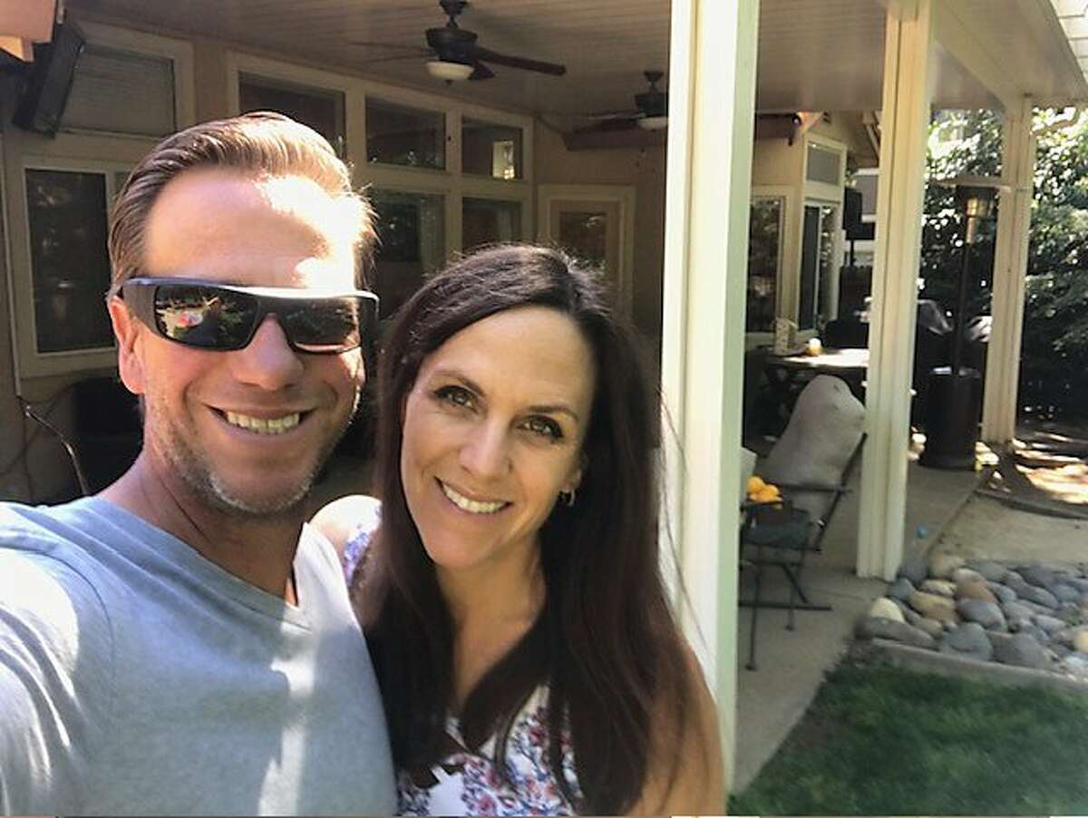 A�s West Coast scouting supervisor Scott Kidd and his wife Gina