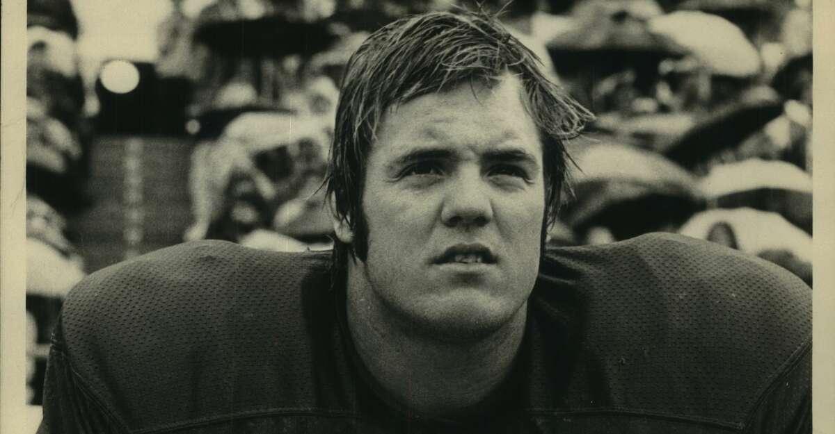 Football; Terry Tausch; Texas offensive tackle