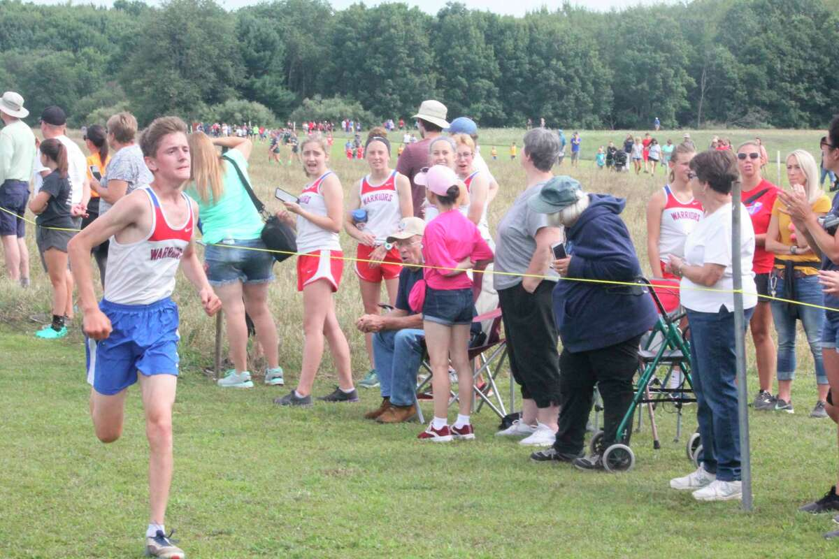 Jake O'Neill, a standout Chippewa Hills cross country runner, is expected to be among the top distance runners for the track team. (Pioneer file photo)