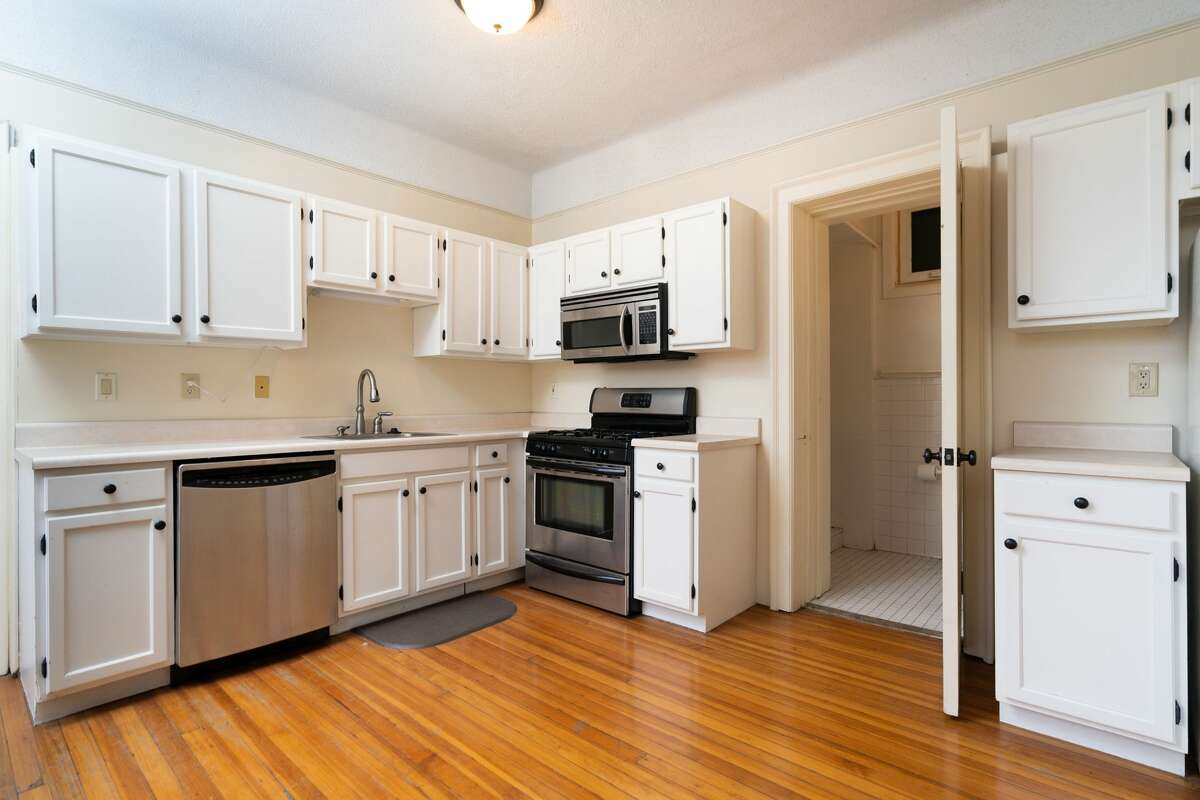 Unit 2A is for sale in the six-story condo building at 352 State St., Albany. Taxes: $4,570. List price: $159,900. Contact listing agent Colin McDonald of Berkshire Hathaway HomeServices Blake at 518-505-4977.