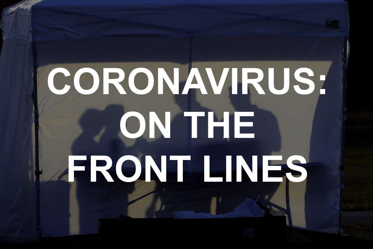 Coronavirus: On the front lines