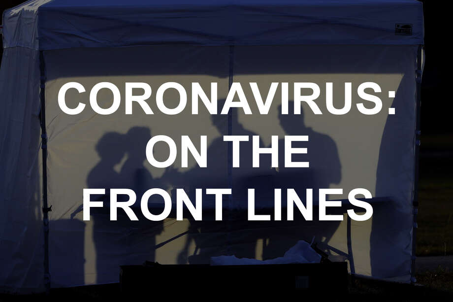 Coronavirus: On the front lines Photo: Chris O'Meara/AP