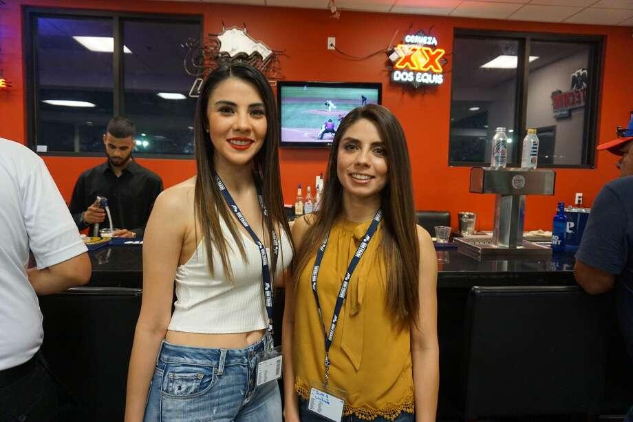 Priscilla and Jessica Ortega at Unitrade Stadium 2018 Photo: Jose Gustavo Morales
