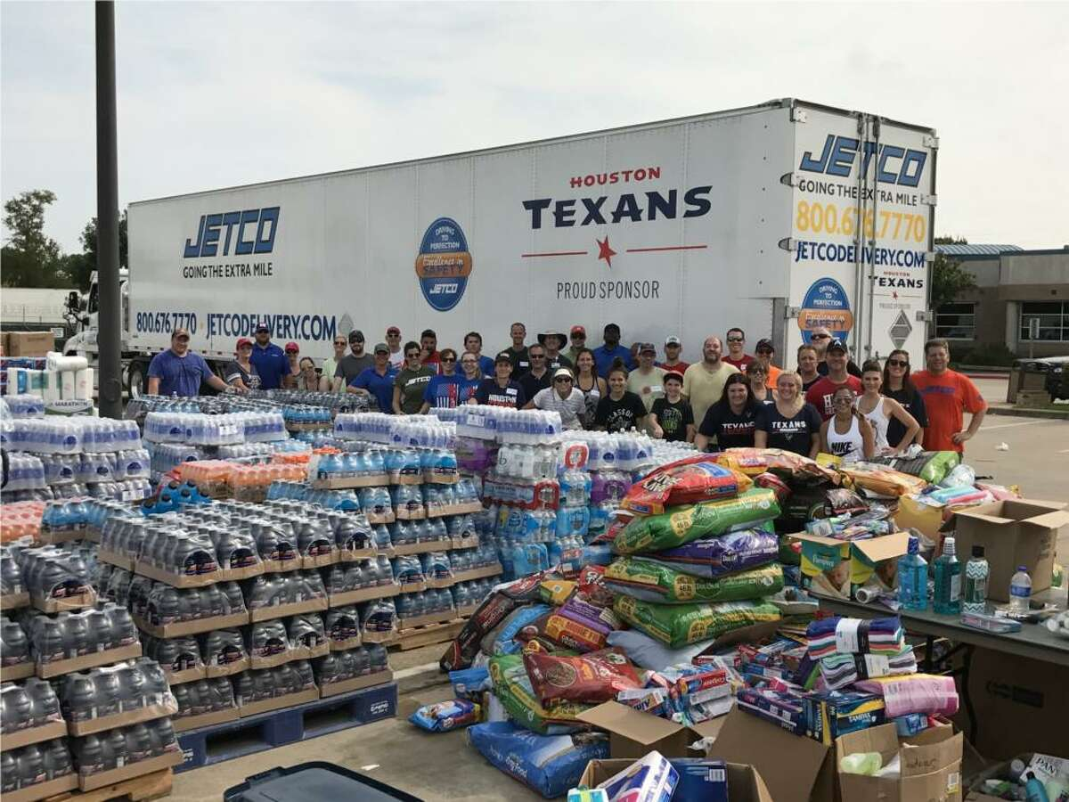 Each November, Jetco sponsors the Taste of the Texans, an event that raises money for the Houston Food Bank.