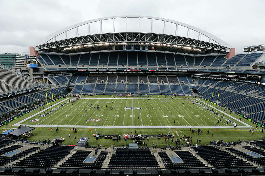 The Seattle Seahawks announced Wednesday that at least their first three home games in the upcoming 2020 season will be played without fans at CenturyLink Field due to the ongoing novel coronavirus pandemic. Photo: Ric Tapia/Icon SMI/Corbis/Icon Sportswire Via Getty Images